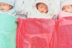 Cứu sống 3 bé sinh 3 non tháng bị suy hô hấp