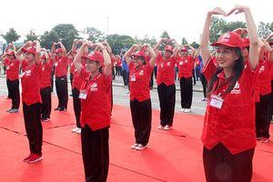 Khai mạc Hội trại Tình nguyện viên, thanh niên Chữ thập đỏ toàn quốc