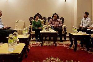 Đoàn đại biểu TPHCM chào xã giao lãnh đạo tỉnh Champasak, Lào