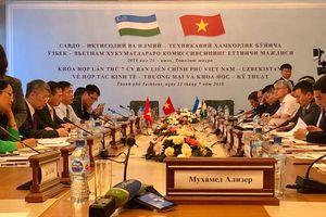 Khóa họp lần thứ 7 UBLCP Việt Nam – Uzbekistan về hợp tác kinh tế - thương mại và khoa học - kỹ thuật