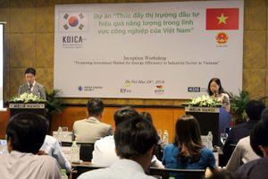 Hội thảo khởi động Dự án 'Tiết kiệm năng lượng trong ngành công nghiệp Việt Nam'