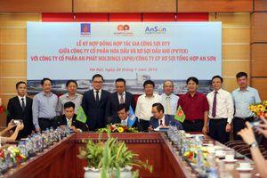 Ký kết hợp đồng hợp tác gia công sợi DTY của Nhà máy sản xuất Đình Vũ