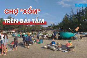 Chợ 'xổm' khó coi trên bãi tắm ở Vũng Tàu