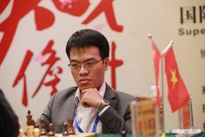 Lê Quang Liêm ngược dòng ngoạn mục ở giải cờ vua Siêu đại kiện tướng quốc tế