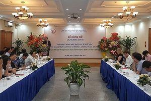 Lần đầu tiên Việt Nam tổ chức đào tạo Thạc sĩ Luật học về Quản trị Nhà nước và Phòng chống tham nhũng