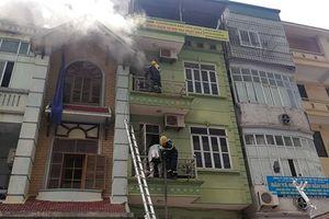 Cháy nhà 5 tầng ở Vạn Phúc, cư dân GoldSilk hoảng loạn