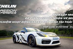 Hình ảnh buổi lễ bốc thăm may mắn chương trình 'mua lốp Michelin, trải nghiệm lái xe thể thao tại Thái Lan'