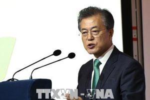 Tổng thống Hàn Quốc Moon Jae-in được mời tới thăm Nhật Bản