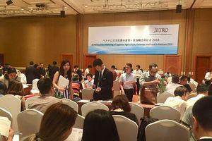 Kết nối doanh nghiệp nông thủy sản, thực phẩm Nhật Bản, Việt Nam