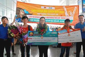 Thí sinh Việt Nam xuất sắc giành 3 huy chương Đồng tại 2 cuộc thi tầm cỡ thế giới