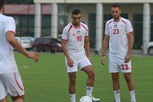 Olympic Palestine dùng đội hình từng vùi dập Thái Lan đấu Olympic Việt Nam