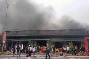 Hỏa hoạn kinh hoàng thiêu rụi 5 quán karaoke tại TP Móng Cái