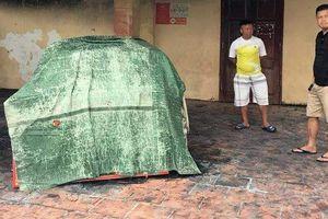 Điều tra nghi án đốt xe ô tô trước trụ sở trạm CSGT ở Hải Phòng