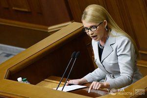 Cựu Thủ tướng Tymoshenko yêu cầu đối phó với 'khủng bố chính trị' ở Ukraine