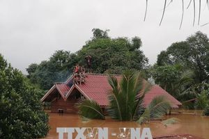 Lào tạm thời cấm hoạt động tại khu vực đập Xepian-Xenamnoy vừa bị vỡ