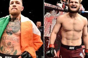 CHÍNH THỨC: McGregor tái xuất, đại chiến Nurmagomedov ở UFC 229