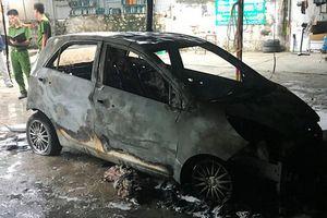 Hải Phòng: Truy tìm đối tượng đốt xe của Đại úy CSGT