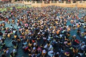 Người dân Hàn, Nhật vật vã đối mặt nắng nóng kỷ lục