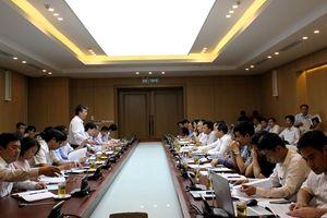 Ban Chỉ đạo Cải cách hành chính của Chính phủ kiểm tra tại Bộ Xây dựng