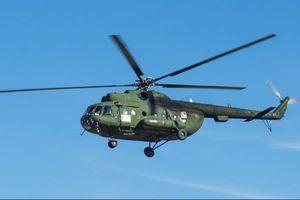 Nga: 18 người chết trong vụ rơi trực thăng