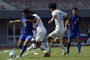 U23 Thái Lan bị U19 Hàn Quốc vùi dập trước thềm ASIAD
