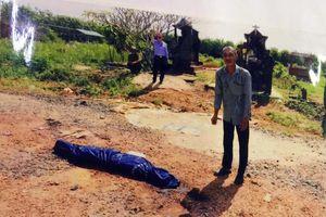 Truy tố người đàn ông giết vợ rồi đem xác ra nghĩa trang đốt phi tang