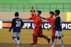 'Hủy diệt' U16 Philippines, U16 Việt Nam chờ sinh tử với U16 Myanmar
