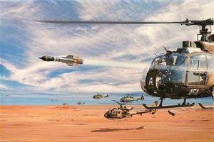 Syria dùng trực thăng và tên lửa NATO để tấn công phiến quân thân phương Tây