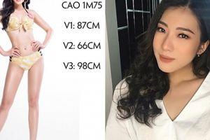 Cách tăng cỡ hông, mông của người đẹp có vòng 3 lớn nhất Hoa hậu Việt Nam