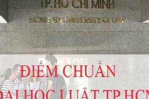 Điểm chuẩn 2018: Đại học Luật TP.HCM