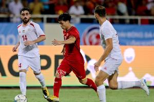 Công Phượng, Quang Hải không thi đấu trận gặp Olympic Oman