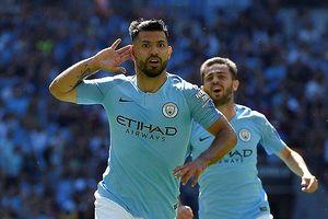 Aguero lập cú đúp, Man City đoạt Siêu cup Anh