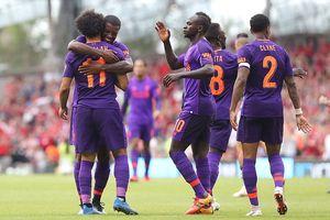 Salah 'nổ súng', Liverpool đè bẹp Napoli 5-0