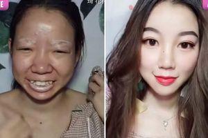 Cô gái gây sốc vì màn 'vịt hóa thiên nga' trong chớp mắt