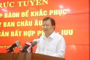 Tập trung giải pháp gỡ 'Thẻ vàng' của EC với hải sản Việt Nam