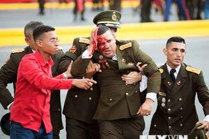 Cận cảnh hiện trường vụ mưu sát Tổng thống Venezuela Maduro