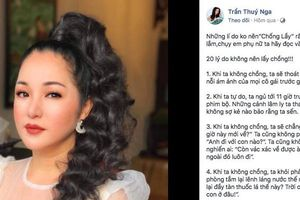 Danh hài Thúy Nga chia sẻ '20 lý do không nên lấy chồng'