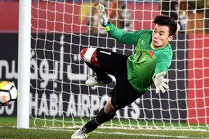 Thủ thành Bùi Tiến Dũng bừng sáng cơ hội ở Olympic Việt Nam