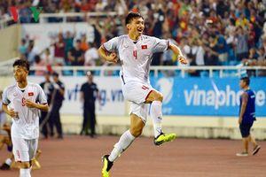 Văn Hậu lập siêu phẩm, Olympic Việt Nam thắng Olympic Oman 1- 0