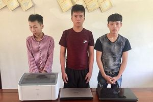 Thiếu tiền chơi điện tử, nhóm thanh niên đột nhập trụ sở UBND huyện để trộm tài sản