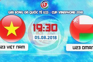 Xem trực tiếp Olympic Việt Nam vs Olympic Oman