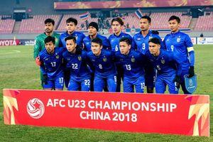 Olympic Thái Lan thay toàn bộ đội hình trước thềm ASIAD 18