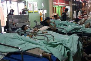 Cập nhật động đất kinh hoàng Indonesia: Đến bệnh viện cũng bị đánh sập