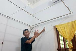 Thanh Hóa: Sụt lún bất thường trong khu dân cư