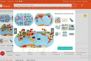 Xóa bỏ website, thu giữ 30 thùng đồ chơi trẻ em xếp hình bản đồ 'lưỡi bò'