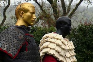 Trung Quốc: Phát hiện áo giáp giấy 2.600 tuổi mỏng tang