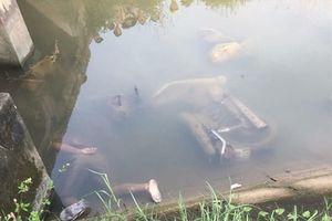 Hai thanh niên tử vong dưới mương nước đã xác định được nguyên nhân