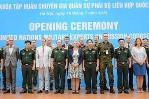 Bước trưởng thành mới của Cục Gìn giữ hòa bình Việt Nam