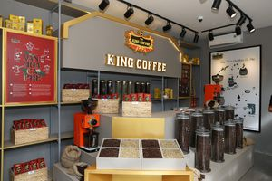Ra mắt chuỗi quán King Coffee