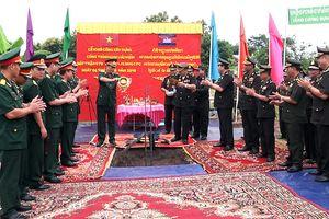 Khởi công xây dựng Khu lưu niệm Bộ tư lệnh Mặt trận 579 tại Campuchia